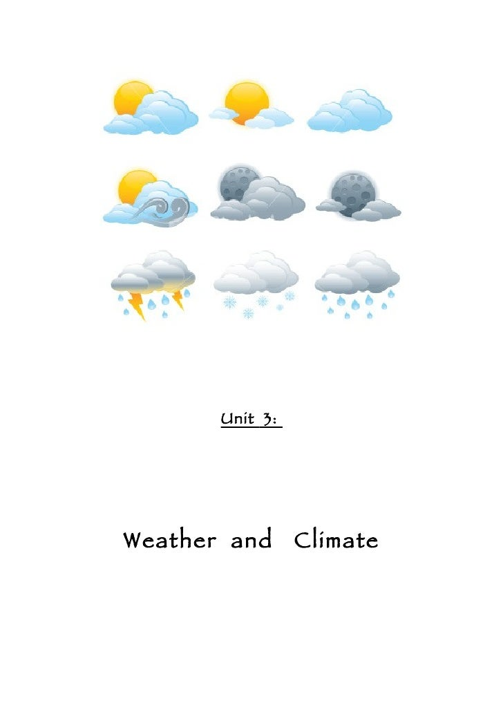 Unit 03 Weather