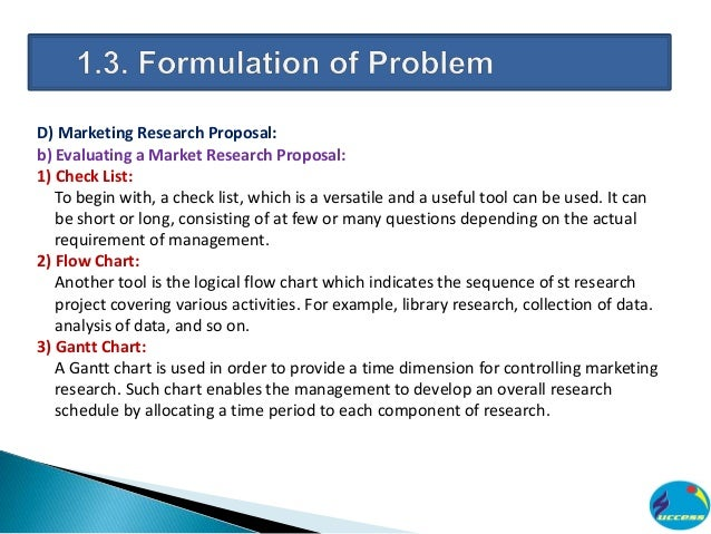 toothpaste marketing research proposal Writing an effective research proposal marja j verhoef, phd robert j hilsden, md msc frcpc departments of medicine and community health sciences.
