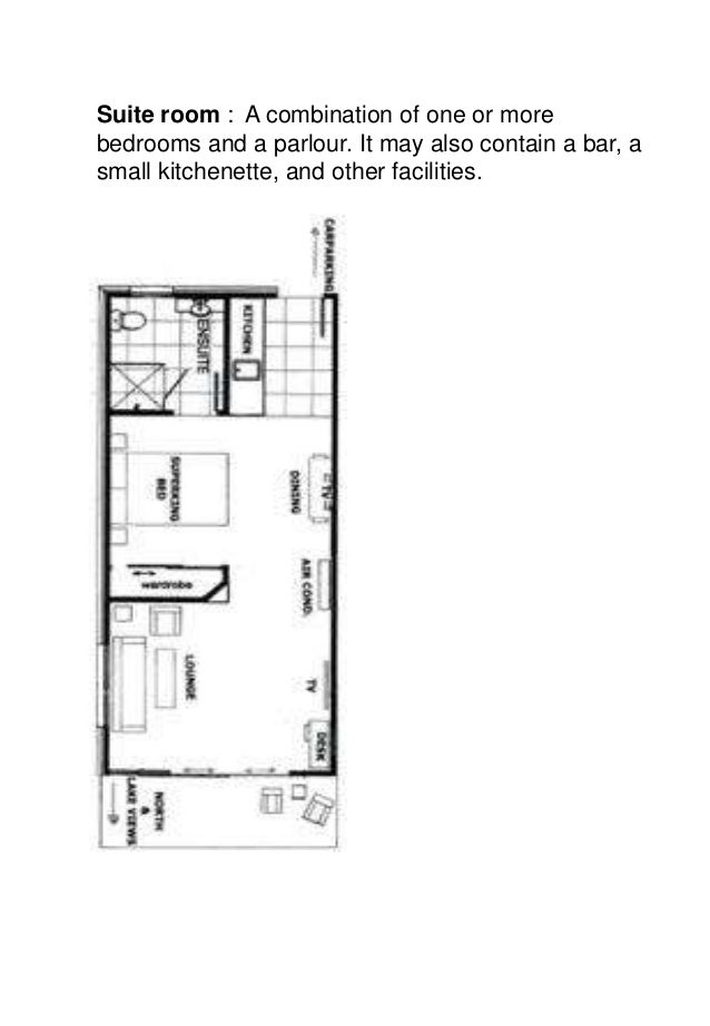 Mta Unit 1 Hotel Guest Room Layout