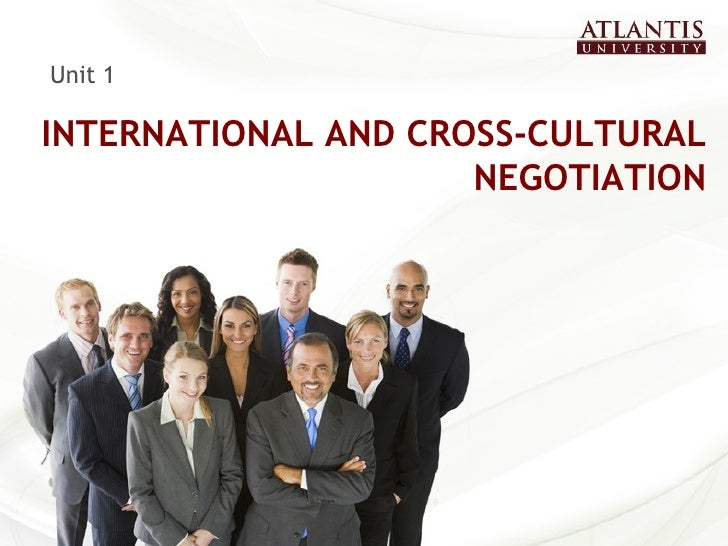 Unit1 International Negotiations and Transactions