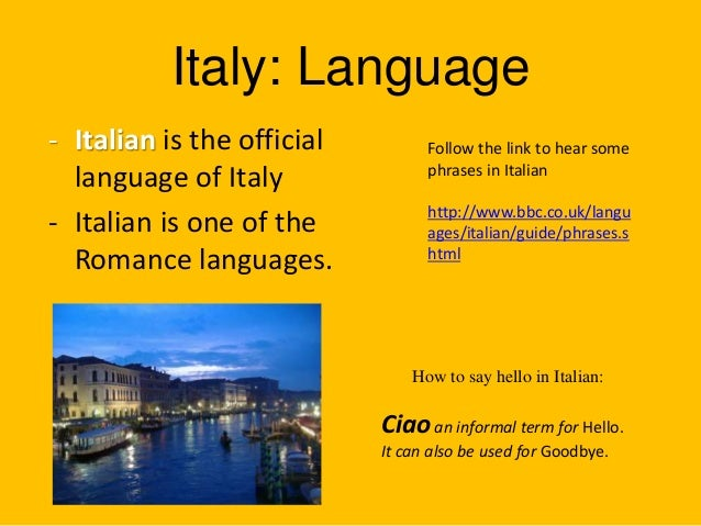 Customs And Cultures of Italy Customs Traditions Italy