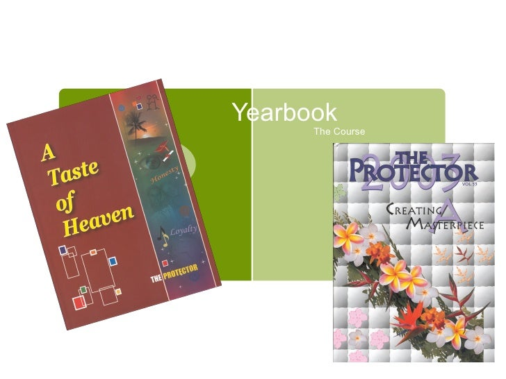 Yearbook The Course
