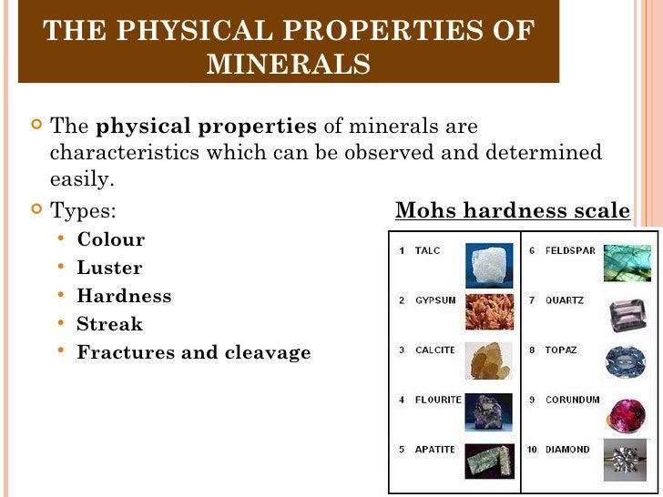 Granite Physical And Chemical Properties