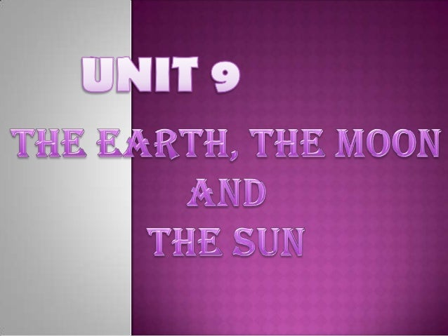  Earth  is our planet and it is the third planet  from the sun. It rotates on its axis from the west to the  east. It t...