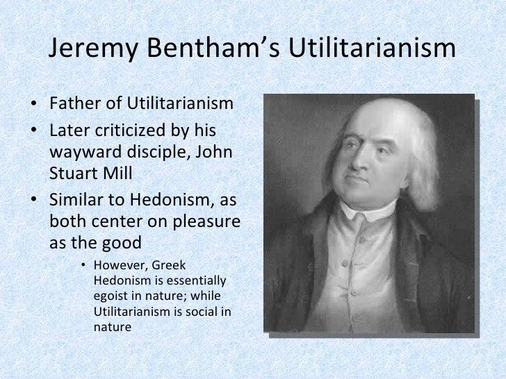 Essay on jeremy bentham utilitarianism