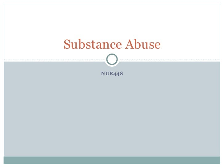 Unit12 substance abuse