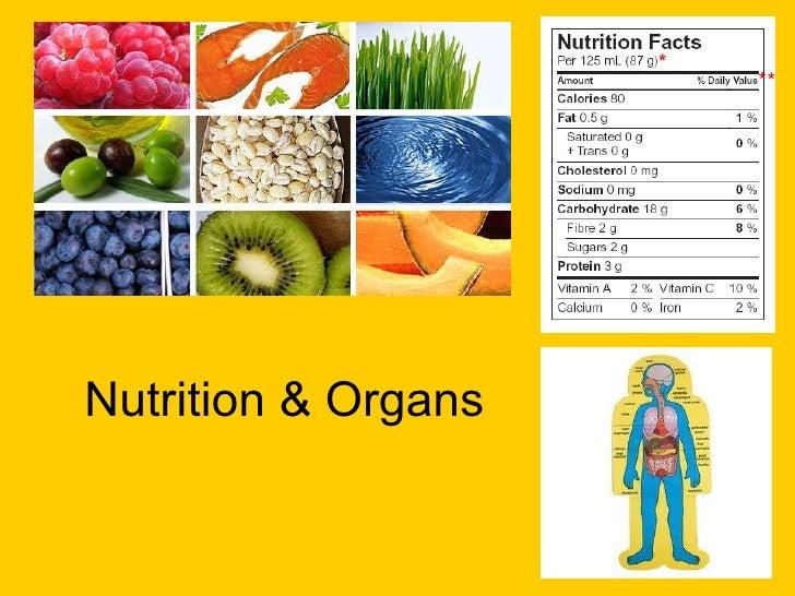 Nutrition & Organs