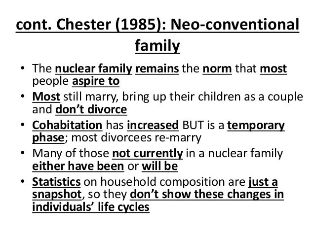 nuclear family thesis