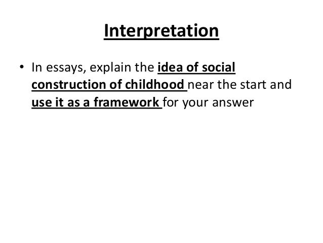 Sociology topics for childhood research paper?