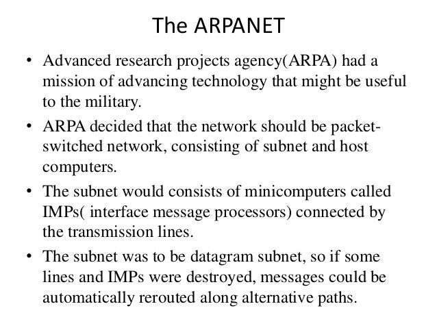 an introduction to the military program called arpanet Posts about free government books written by  to-mainframe computer network in 1969 was called arpanet,  federal depository library program web.