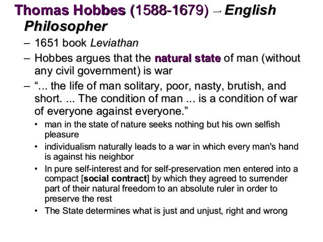 the perpetual conflict of mankind in the book leviathan by thomas hobbes Discover thomas hobbes famous and rare quotes share thomas hobbes quotations about desire, opinions and passion government is necessary, not because man is naturally.