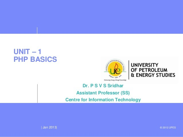 Unit 1 php_basics