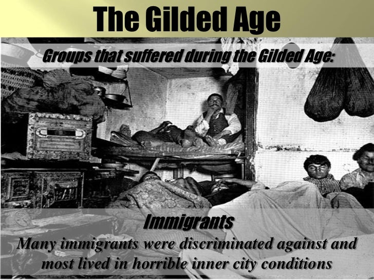 african americans during the gilded age These contrasting economic and social trends played a major role in determining the character of state politics during the gilded age throughout this most whites had continued to treat african americans as inferiors following the end of slavery, and the races lived in informally segregated worlds still, as.
