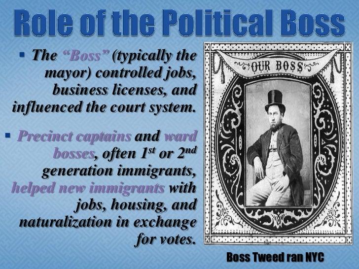 what was a political machine