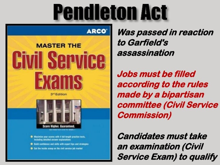 pendleton civil service act