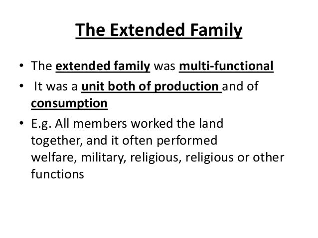 extended definition essay on family