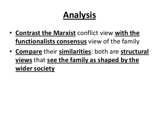 Functionalism conflict theory essays