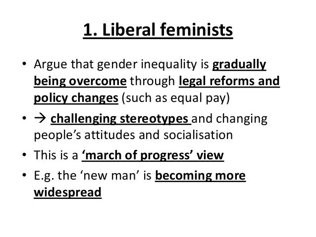 How do you write an essay in a feminist point of view?