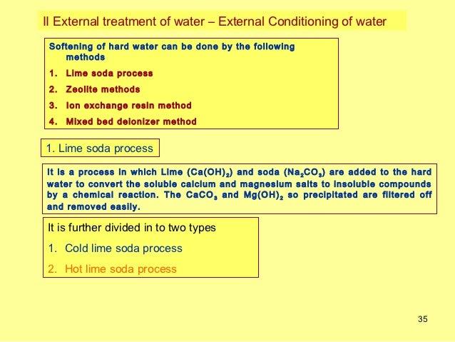 Ion Exchange Resin Method Ion Exchange Resin Method