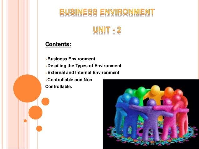 unit 1 business environment essay