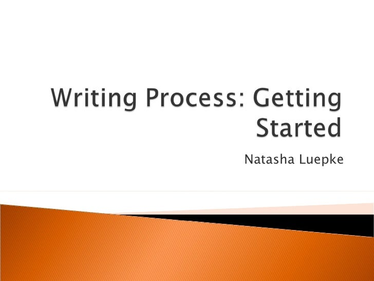 Getting Started with Research and Writing
