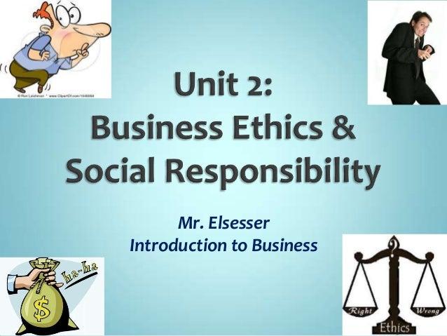 define ethics and social responsibility essay