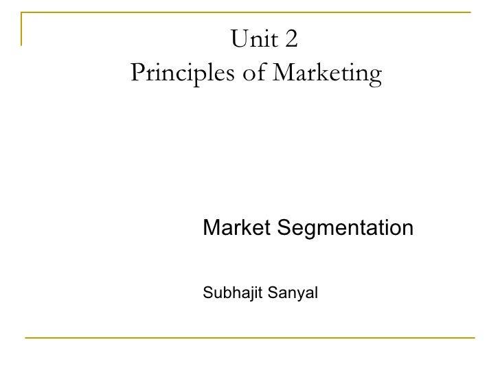 Unit2 market segmentation1