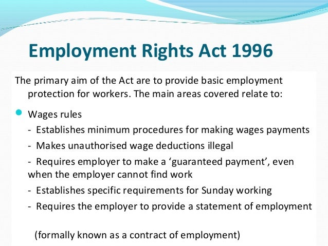 employees rights in the workplace essay Title vii of the civil rights act of 1964 prohibits workplace discrimination based  on religion, national origin, race, color, or sex at this time, employers and unions .