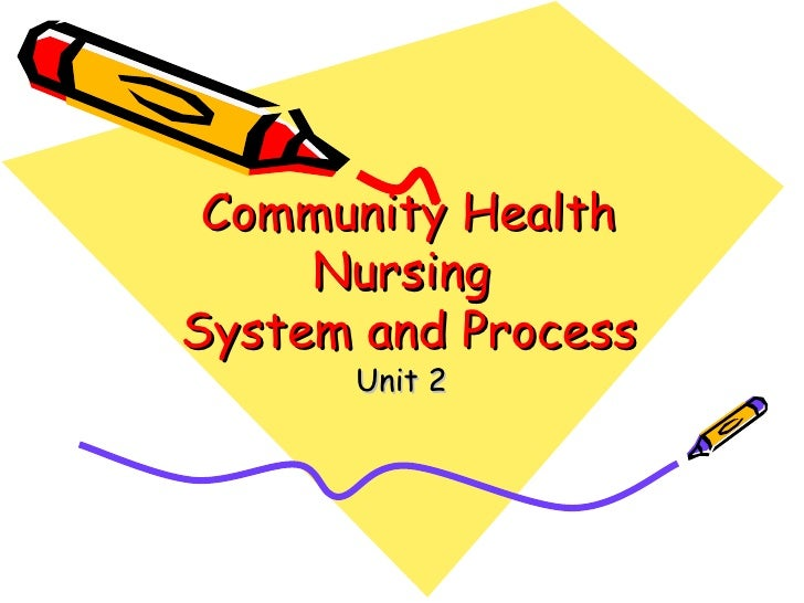 Unit%202%20 %20 Community%20 Health%20 Nursing%20system%20and%20process