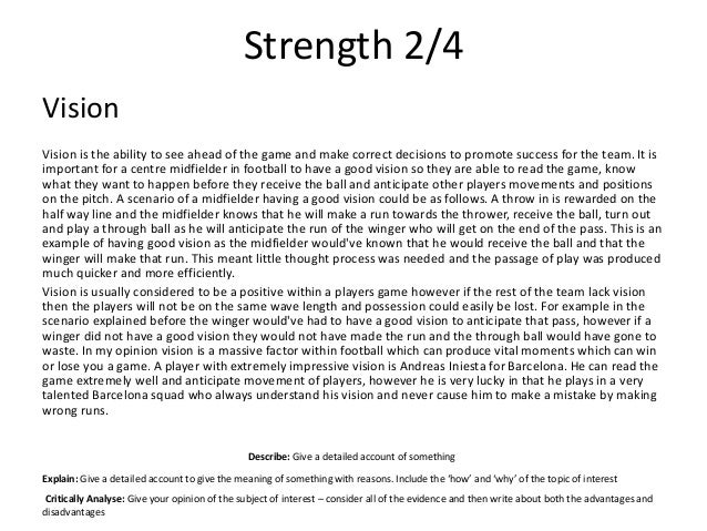 What Should You Write for Strengths and Weaknesses on a Resume?
