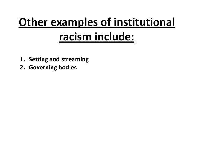 racism and education essay A report on racism in sport psychology essay print reference this  to eliminate and eventually eradicate racism in sport, education is the most useful way to.