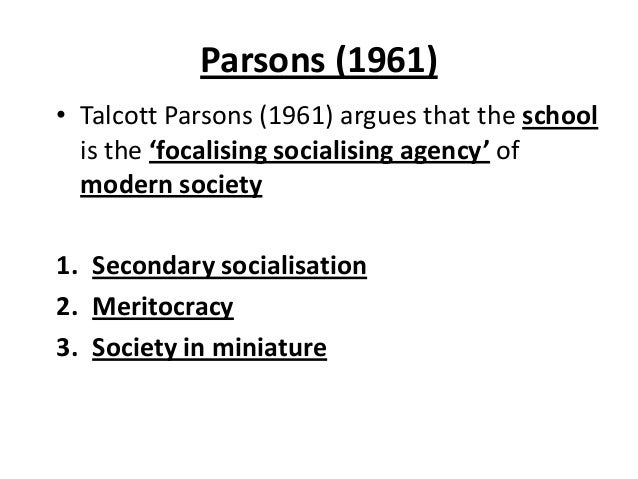 functionalists view of education Blacksacademynet perspectives on education: functionalist views of education, durkheim, talcott parsons.