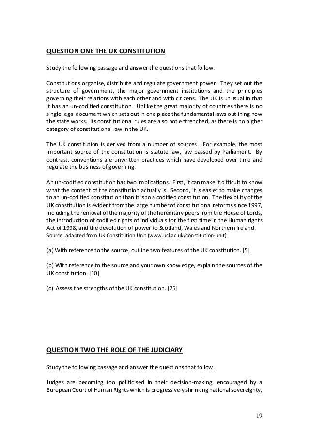 constitution essay conclusion