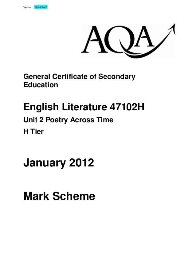 english literature ib past paper