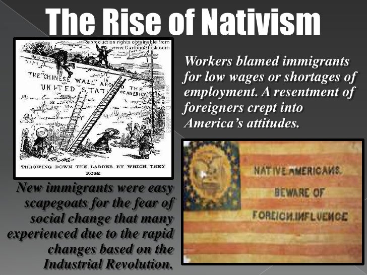 the rise in the immigration of japanese to the us during the late 1800s The social transformation brought on by the new industrial age affected every aspect of life in america with women toiling alongside men, marriages were often delayed, resulting in smaller families.