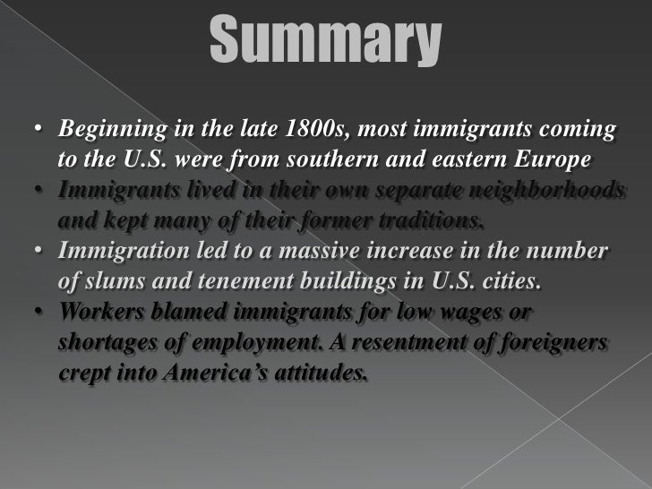 the rise in the immigration of japanese to the us during the late 1800s What was the cause of the japanese immigration in the 1800's to the united states  of immigrants to the united states come from in the late 1800s  did the japanese immigrants face in the .