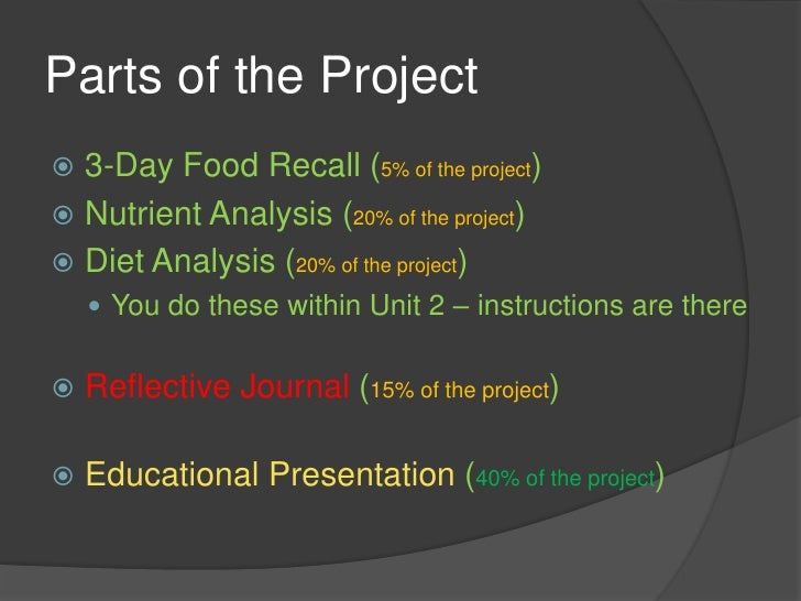 dietary analysis Nutrition analysis refers to the process of determining the nutritional content of foods and food products the process can be performed through a variety of certified methods.