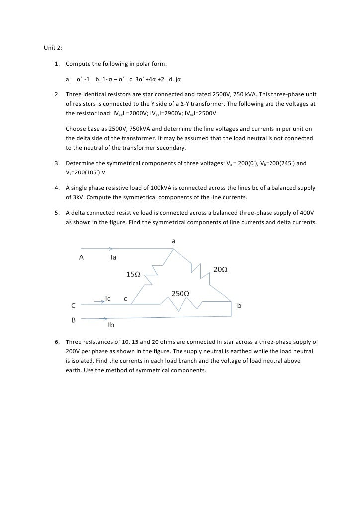 Unit 2 Questions_Nagrath kothari