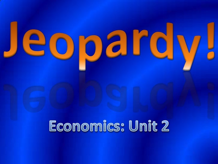 Review of Supply & Demand and the Market