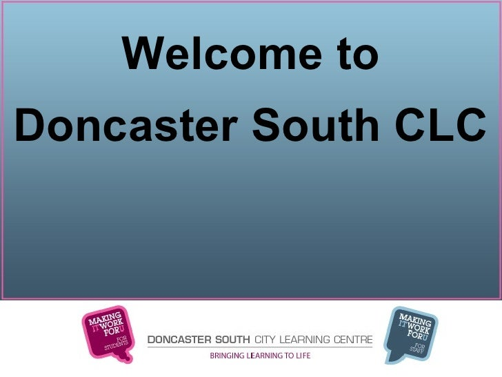 Welcome to Doncaster South CLC