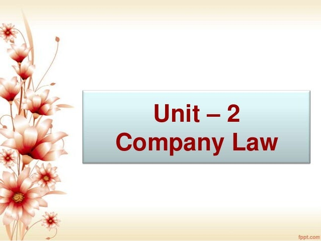 Unit 2 types of co.