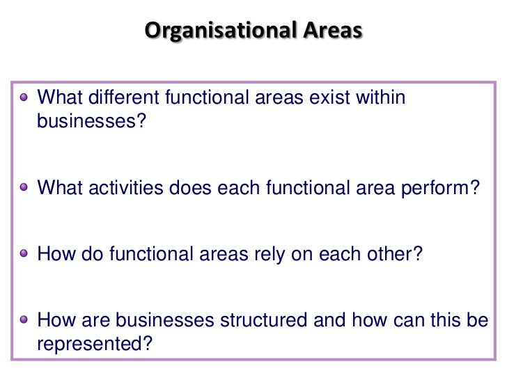 functional areas of tesco