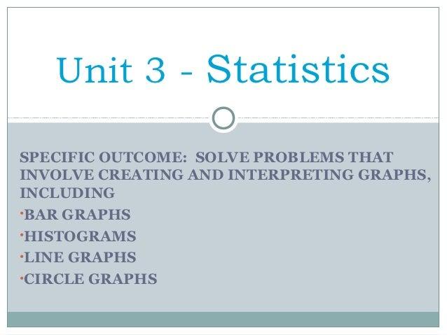Unit 3 Statistics
