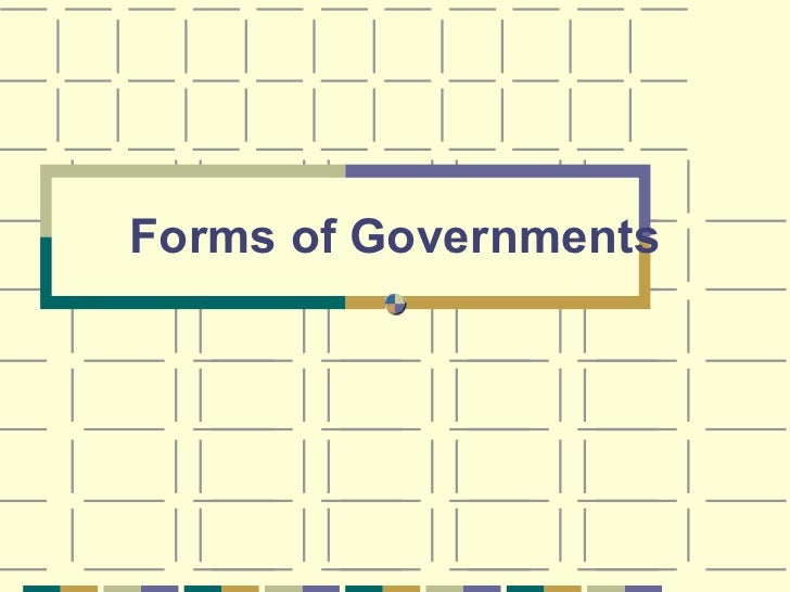 Unit 3 forms of government  powerpoint.cm