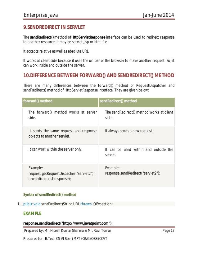 java servlet and servlet programming