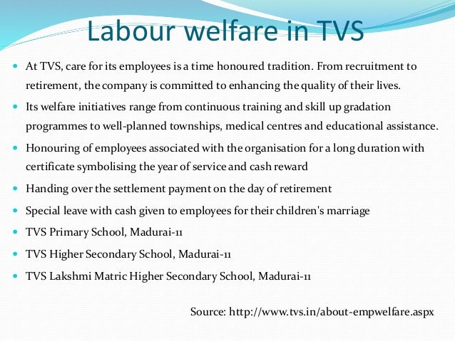 labour welfare measures among construction workers A study on employees welfare measures with a study on employees welfare measures with it improves moral & loyalty of workers it reduces labor.
