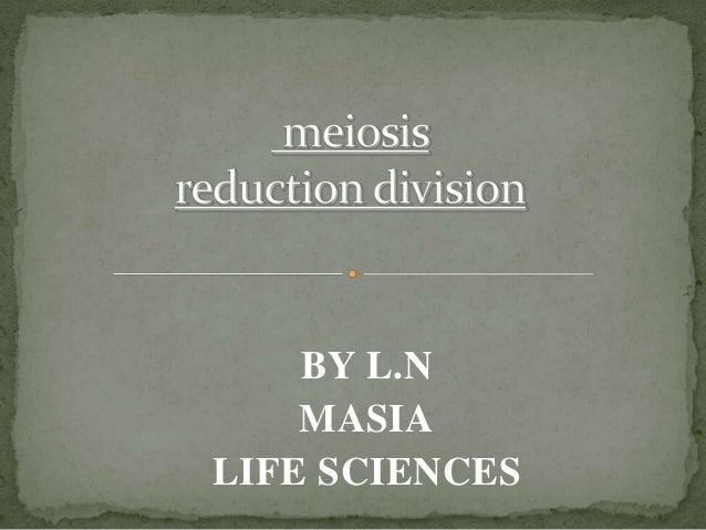 BY L.N MASIA LIFE SCIENCES