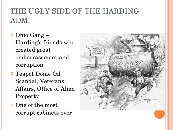 apush outline harding hoover Warren g harding won the election of 1920 by a landslide on the promise of a   of the 1920s—harding, coolidge, and hoover—reversed the progressive era.