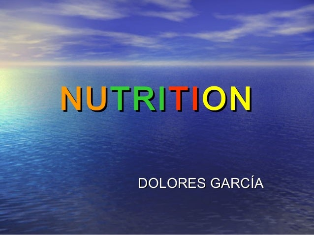 Unit 3 nutrition lola