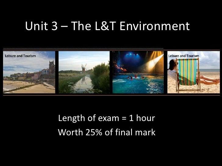Unit 3 – the l&t environment   revision ppt